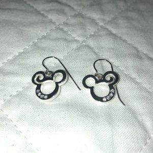 Disney Mickey Mouse Rhinestone Earrings